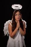 Praying do anjo Imagem de Stock Royalty Free