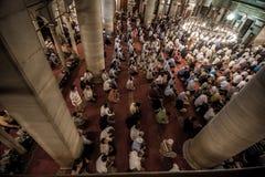 Praying in Eyup Mosque Royalty Free Stock Image