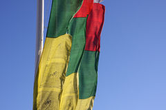 Praying Flags Royalty Free Stock Photography