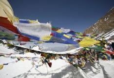 Praying flags Royalty Free Stock Image