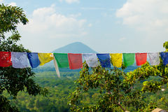Praying flags Stock Images