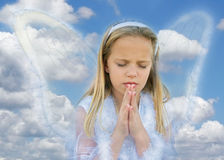 Praying Girl Stock Photos