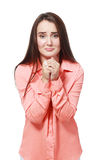 Praying girl Stock Photography