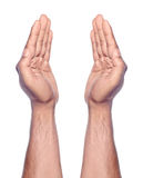 Praying Hand Gesture Royalty Free Stock Photos