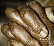 Praying Hands. Close up of Praying Hands Stock Images