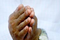 Praying hands Royalty Free Stock Photos