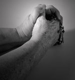 Praying hands Royalty Free Stock Photos