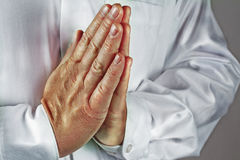 Praying Hands Stock Photo