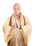 Praying Holy Man Royalty Free Stock Photo