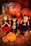 Praying kids Royalty Free Stock Image