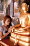 Praying Lady Royalty Free Stock Images