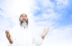 Praying man Royalty Free Stock Photo