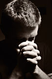 Praying man. Stock Images