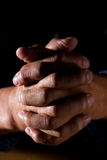 Praying man Royalty Free Stock Images