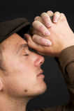 Praying Man Stock Photography