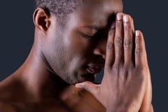 Praying man. Stock Images
