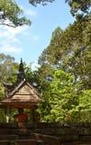 Praying Monk Statue Royalty Free Stock Images