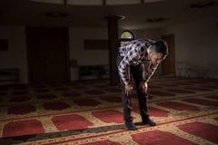 Praying muçulmano Imagens de Stock Royalty Free