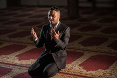 Praying muçulmano imagens de stock