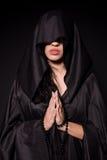Praying nun Royalty Free Stock Photography