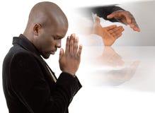 Praying para a paz Imagem de Stock Royalty Free