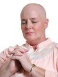 Praying para a saúde Foto de Stock Royalty Free