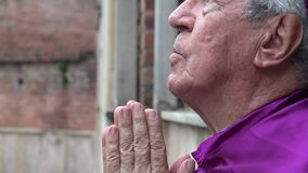 Praying, Priest, Father, Religion stock video footage