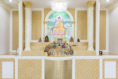 Praying  room, Set of altar table. Stock Photography