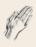 Praying Royalty Free Stock Image