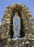 Praying statue of mary, Royalty Free Stock Images