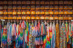 Praying tablets at Fushimi Inari shrine Royalty Free Stock Image