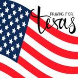 Praying for Texas Royalty Free Stock Image
