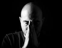 Praying time Stock Photos