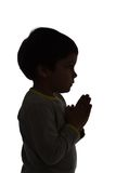 Praying to god Stock Images