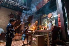 Praying in Vietnam Stock Photography