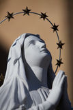 A Praying Virgin Mary Statue Stock Photos