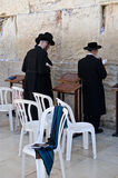Praying in the Western wall royalty free stock photos
