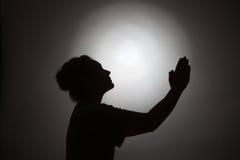 Praying woman Royalty Free Stock Images