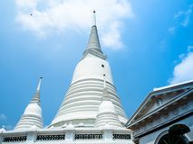 Prayun Temple white is beautiful royalty free stock photo