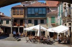 Praza de Lena - Pontevedra Royaltyfri Fotografi