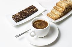 Prazer do café Imagens de Stock Royalty Free