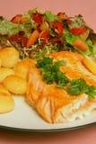 Prazer Salmon Imagens de Stock
