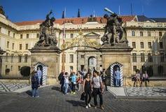 Prazsky Hrad, Prag Stockfoto