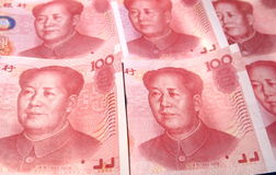 100 prc currency Stock Image
