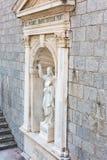 PRCANJ, ΜΑΥΡΟΒΟΥΝΊΟΥ - 04 ΙΟΥΝΊΟΥ: Καθολική εκκλησία Στοκ Φωτογραφία