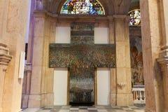 PRCANJ, MONTÉNÉGRO - 23 JUILLET 2015 : Le catholique photos stock