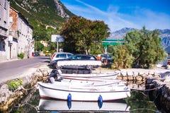 Prcanj, Montenegro Zdjęcia Royalty Free