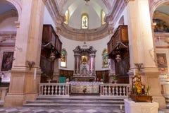 PRCANJ, MONTENEGRO - JULY 23, 2015: The Catholic Stock Image