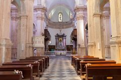 PRCANJ, MONTENEGRO - JULY 23, 2015: The Catholic Stock Photography