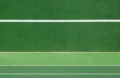 Práctica del tenis Foto de archivo libre de regalías